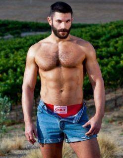 Fotos de homem do campo pelado