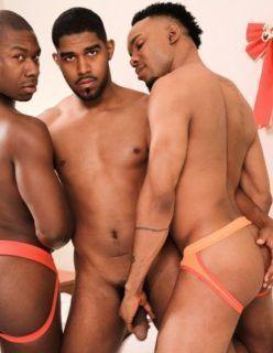 Fotos de suruba gay com negros dotados