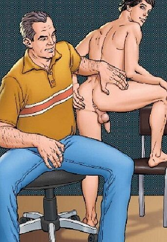 Papai cuidando do meu bumbum